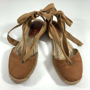 Michael Kors Espadrille Lace Up Sandals
